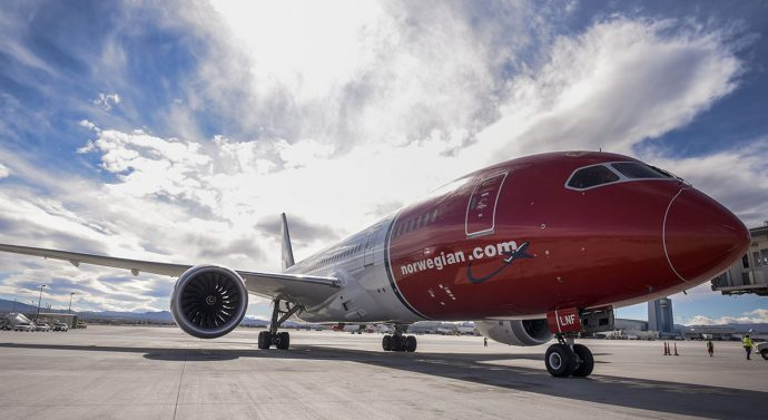 aviação air norwegian