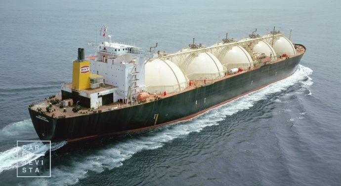 lng navio gnl china