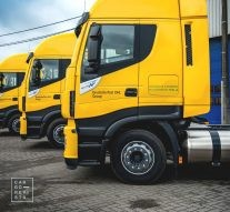 dhl freight camioes iveco gnl