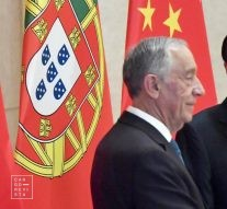 Marcelo Rebelo de Sousa e Li Keqiang China