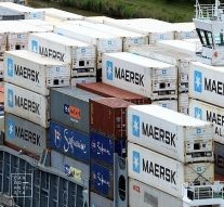 Maersk DB containers